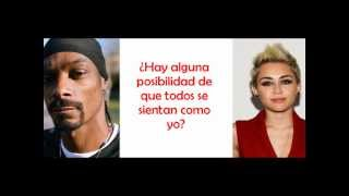 Ashtrays and Heartbreaks - Snoop Dogg ft. Miley Cyrus (Traducida al Español)