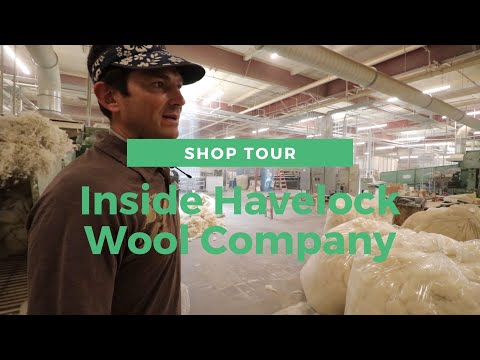 Havelock Wool Company Tour - Wool Insulation