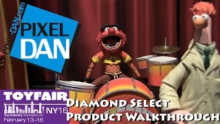 Diamond Select Toys Product Walkthrough at Toy Fair 2016 - TMNT, Marvel, Muppets, and more!