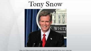 Tony Snow