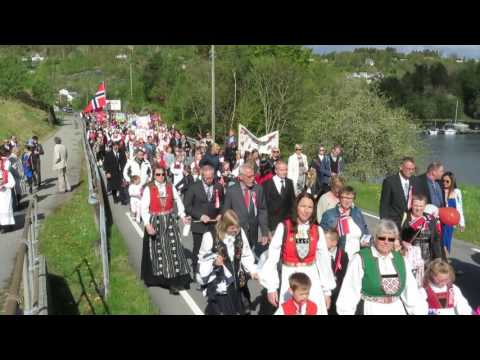 17. mai 2016 Tysnes, Våge