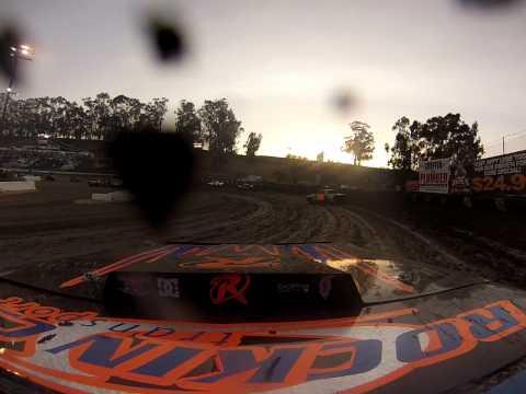 Santa Maria Speedway Austin Ruskauff Hobby Stock #88R Heat Race 6/29/13