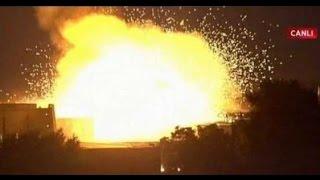 فيديو لحظة تفجير البرلمان التركي