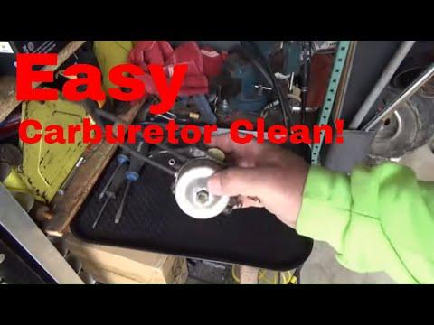 No Start, EZGO Workhorse Carburetor Clean, Starter Change, Cold Start!