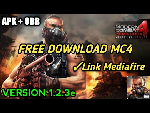 Download Apk+Obb Modern Combat 4 Zero Hour ~Version  1.2.3e For Android