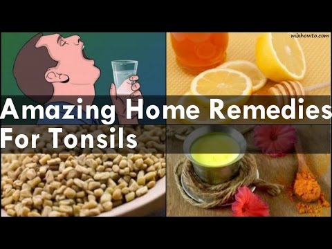 Home Remedies For Tonsils - YouTube