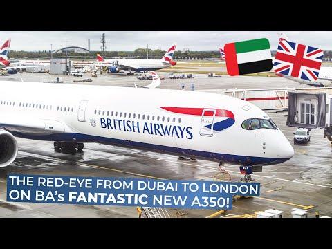 TRIPREPORT | British Airways (ECONOMY) | Airbus A350-1000XWB | Dubai - London Heathrow