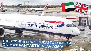 TRIPREPORT | British Airways (ECONOMY) | Airbus A350-1000XWB | Dubai - London Heathrow