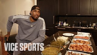 Download Eating Congolese Food with Serge Ibaka of the Toronto Raptors Mp3 and Videos