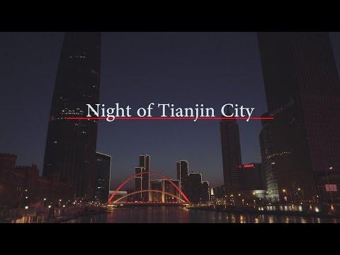 [4k] Night of Tianjin City (SONY A7s II)