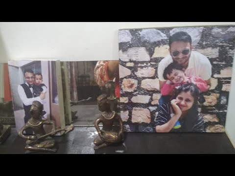 Diy photo wall/ Photo canvas/ best personalized gift / Photo transfer on wood