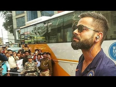 OMG: This is what happened when Virat Kohli & his team arrived at team hotel in Ranchi Mp3