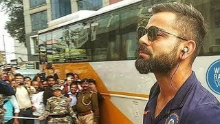 OMG: This is what happened when Virat Kohli & his team arrived at team hotel in Ranchi