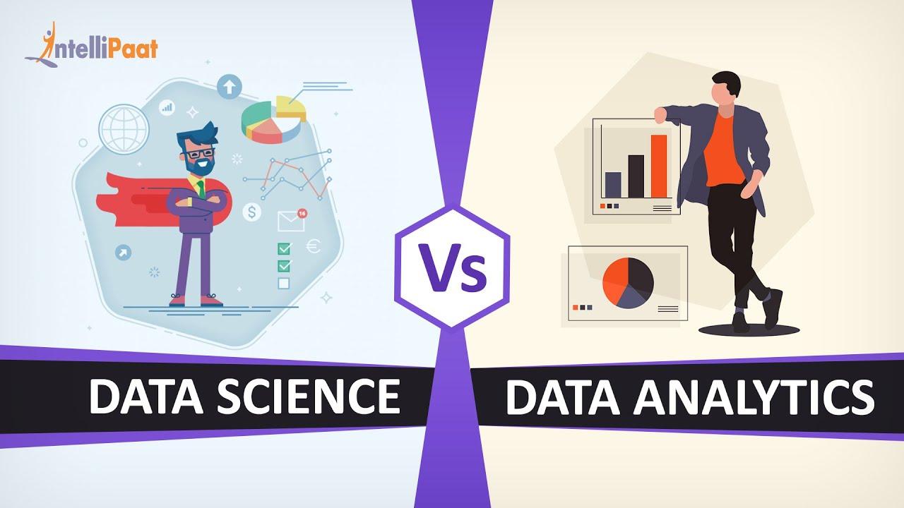 Data Science vs Data Analytics | Difference between Data Science and Data Analytics