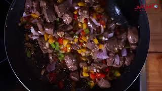 مطبخ المواشي.    كيفية طبخ الكبده بطريقة الشيف عبدالرزاق السيد