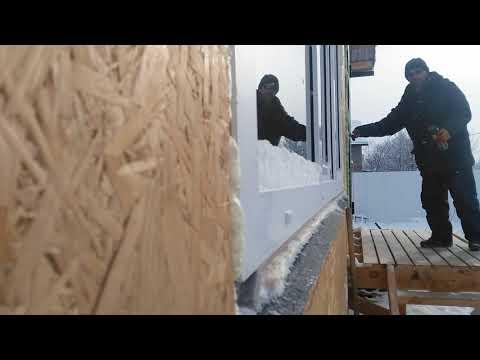 Брак монтажников окон в доме из сип. Пятигорск.