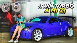 TWIN TURBO A MI 350z | ManuelRivera11