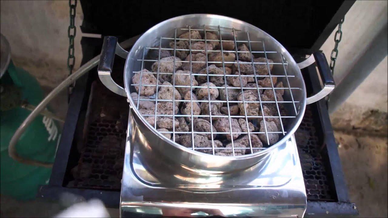 Homemade Mini Gas Bbq Grill You