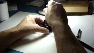 como abastecer caneta tinteiro com bombinha embutida - supplying a fountain pen thumbnail