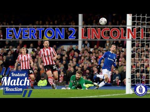 Everton 2-1 Lincoln City | Bernard Goal Helps Blues Progress | Match Reaction