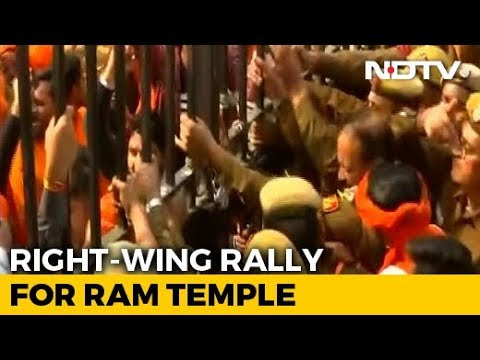 "At Mega Delhi Rally For Ram Temple, RSS Man Targets ""Those In Power"""