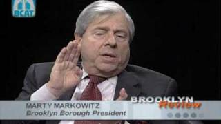 Interview W/Brooklyn Borough President Marty Markowitz: Broo