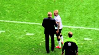 Johnny Russell Takes Out Uwe Rosler