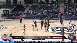 Cibola vs Rio Rancho Volleyball Highlights Oct 16 2018
