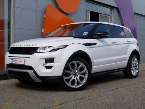 2011 range rover evoque dynamic lux pack 2 2sd4 white for sale in hampshire youtube. Black Bedroom Furniture Sets. Home Design Ideas