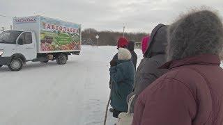 Деревенских жителей в России выручают автолавки