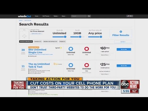 Best cell phone plans - wifi 4g cell phone service