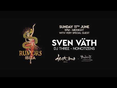 NonCitizens @ RUMORS Ibiza Warm Up Sven Vath [11th June 2017]