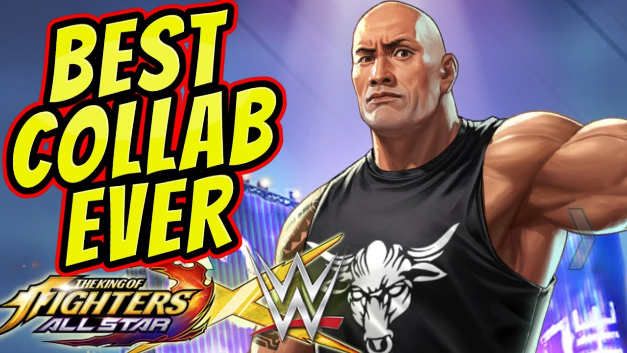 Wwe Collab The Rock Is Free King Of Fighters Allstar Youtube