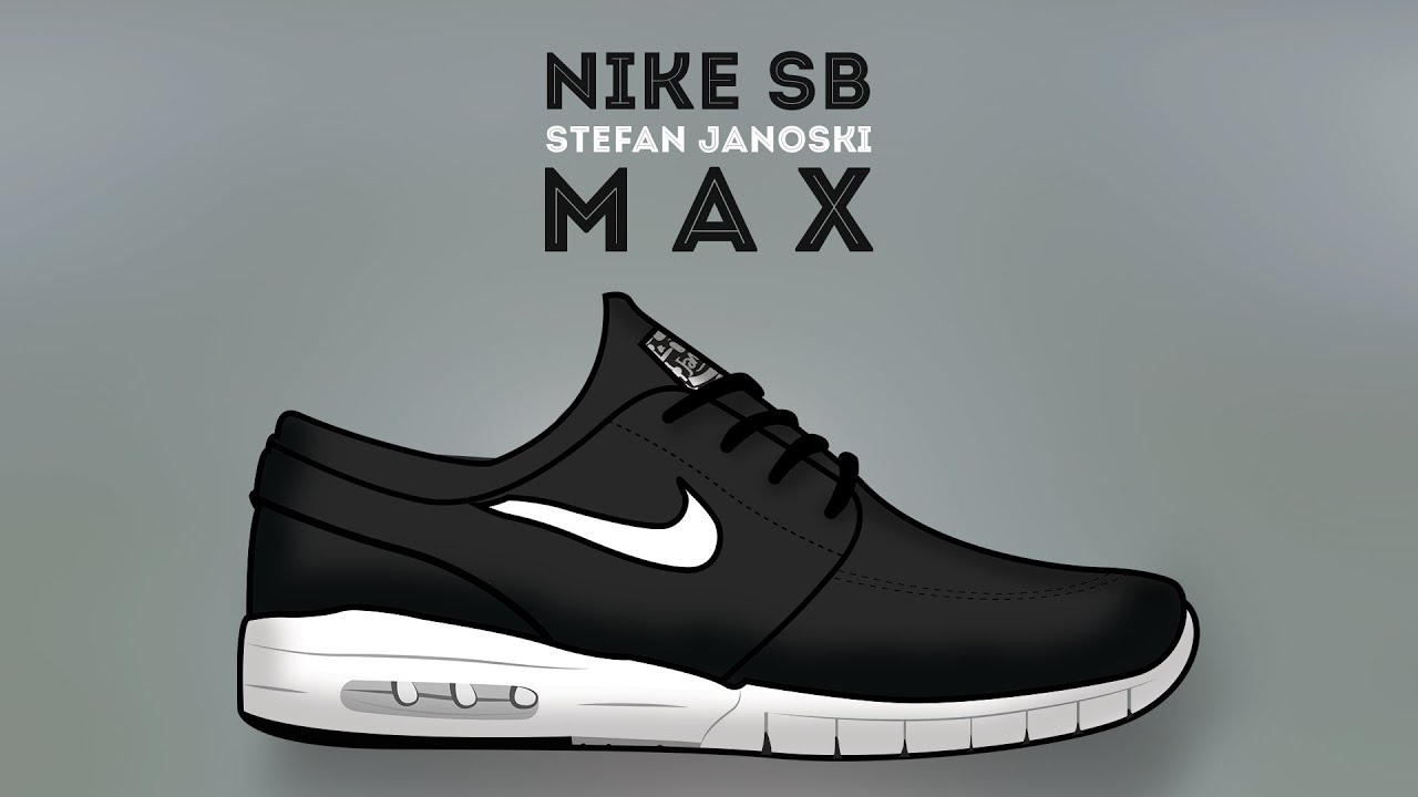Nike Max Illustration Janoski Speedart Youtube Sb 6d4nqAw1A