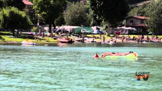 Como Lake - Domaso July 2012