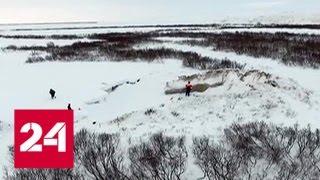 Московские учёные совершили экспедицию на знаменитые воронки Ямала - Россия 24