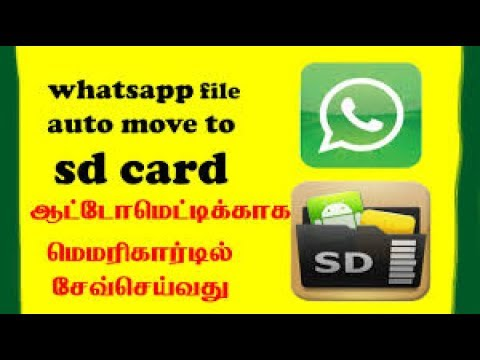 How To Move Whatsapp Media To Sd Card Whatsapp Storage