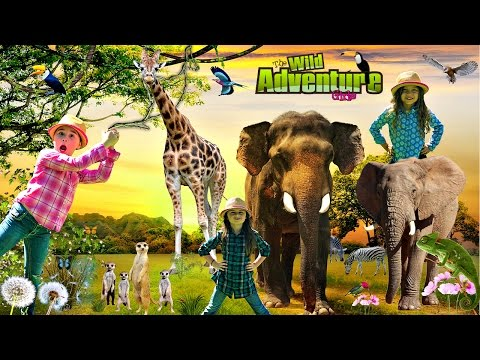 Thumbnail: Kids and WILD ANIMALS at the Zoo | Animal Adventure Park | Wild Animal Adventure