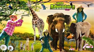Kids and WILD ANIMALS at the Zoo | Animal Adventure Park |  Wild Animal Adventure