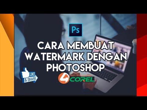Membuat watermark dengan photoshop untuk pemula