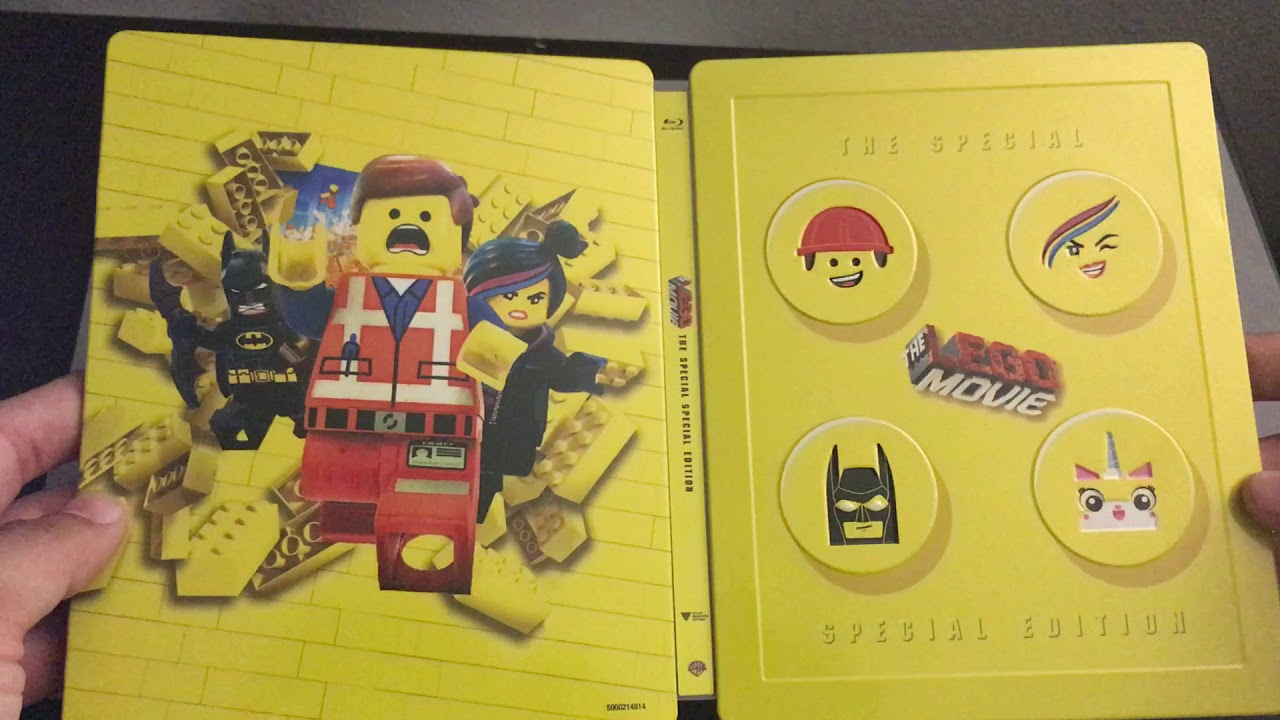 The lego movie blu-ray: the special special edition.