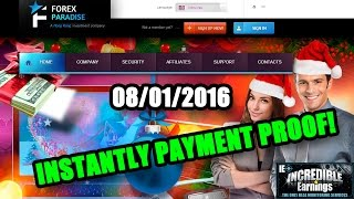 Forex Paradise - Paid $1.20 (instantly) - incredible-earnings.com