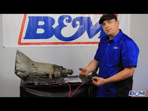 B&M Transmission - How To Adjust An Automatic Shift Cable