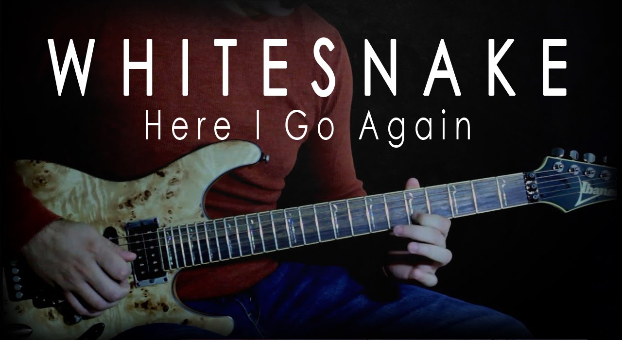 Whitesnake - Here I Go Again Solo - YouTube