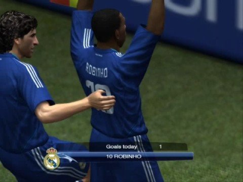 PES 2009 : Juventus Vs Real Madrid [First Half]