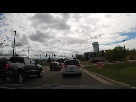 Driving Through North Canton, Ohio