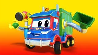 Truck videos for kids -  Super GARBAGE TRUCK VERSUS the ICE CREAM MACHINE - Super Truck !