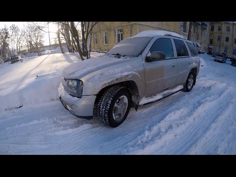 Chevrolet trailblazer 2005 заводится зимой в - 34