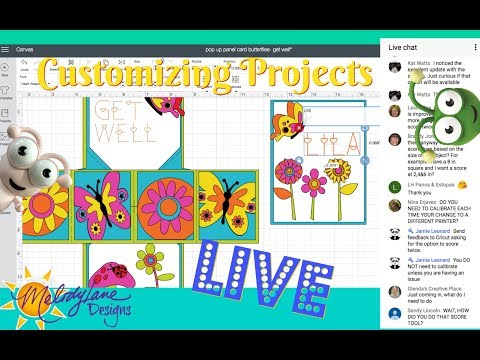 LIVE Class - How to Customize Pre-Made Projects in Cricut Design Space