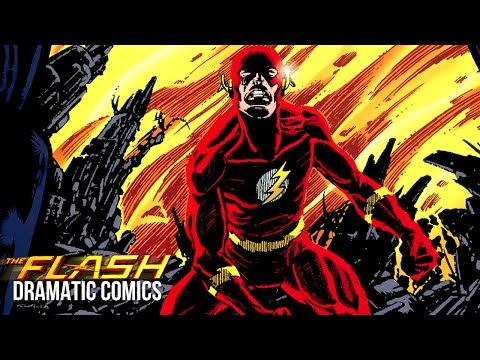 CRISIS ON INFINITE EARTHS: THE DEATH OF THE FLASH | Dramatic Comics